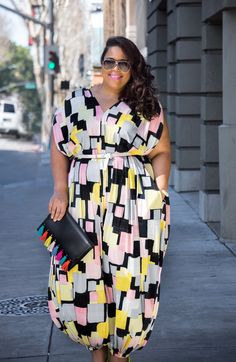GarnerStyle | The Curvy Girl Guide: I Got To Try Beth Ditto On For Size