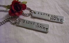 I love you more  I love you most couples hand by glamgirlspretties, $32.00