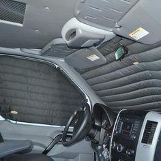 Insulating Curtains, 3 piece cockpit kit                      – Adventure Van Company