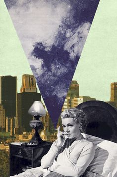 Lana Turner, Collage Art, Pop Art, via http://julia-geiser.ch/
