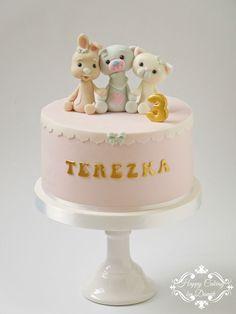 Cute Baby Animals Cake