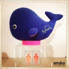 Personalized Whale for Noah