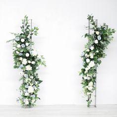 Wedding Arbors, Wedding Ceremony Flowers, Wedding Flower Decorations, Ceremony Decorations, Floral Wedding, Flower Backdrop, Backdrop Stand, Toronto Wedding Photographer, Flower Stands