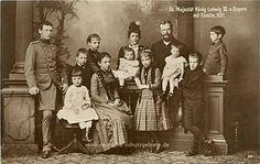 König Ludwig III von Bayern mit Familie 1887