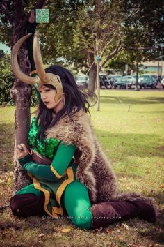 Majestic Goddess of Mischief Costume...