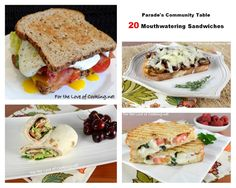 Parade's Community Table ~ 20 Mouthwatering Sandwiches
