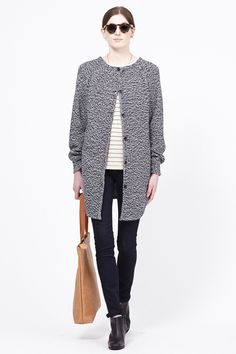 Comfy, chic, and warm outfit from Totokaelo.