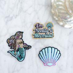 Mermaid patch set