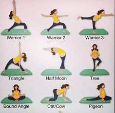 Yoga for pregnancy. Not as easy as it looks but hope it will help with the hip pain.