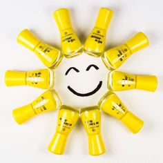 "it's international day of happiness today! and on our #instagram image of the week, the colour&gos ""137 wanna be your sunshine"" are shining as bright as the sun with a happy smile to put you in the mood for spring  are you following us yet? http://www.instagram.com/essence_cosmetics"