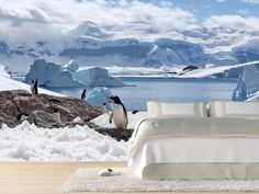 Eazywallz  - Group of penguins Wall Mural, $131.24 (http://www.eazywallz.com/group-of-penguins-wall-mural/)