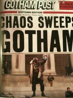 Headlines in Gotham