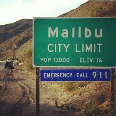 Of course! #malibu #california