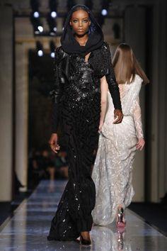 Versace Atelier Haute Couture Spring Summer 2014 Paris - NOWFASHION black beauty