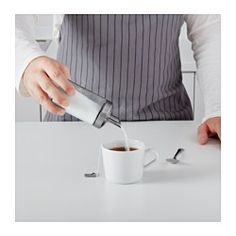 IKEA - DOLD, Single portion sugar shaker, Pours a small amount every time.