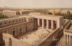 Sumerian City Uruk, Eanna Area, around 3300 BC