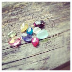 Add A Birthstone to any Necklace Bracelet by cocowagner, $9.80