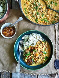 One pot wonder - lettvint gryterett - Mat På Bordet Veg Recipes, Vegetarian Recipes, Healthy Recipes, Crunch Wrap, Tex Mex, Main Meals, Fried Rice, I Foods, Bacon