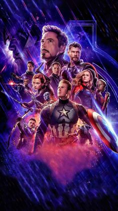 Avengers Endgame: Favourite Movie of All Time - Marvel Universe Marvel Avengers, Avengers Poster, Avengers Movies, Marvel Art, Marvel Heroes, Superhero Wallpaper Iphone, Avengers Wallpaper, Marvel Movie Posters, Marvel Films