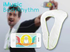 iMusic BodyRhythm: Let your body feel music with an iPhone by Uwe Diegel, via Kickstarter.