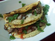 """Tacos al carbon and carne asada. Not the same thing? The """"al carbon"""" part of tacos al carbon is meat grilled over charcoal. Carne asada is typically grilled, but many times seared over a commerci..."""