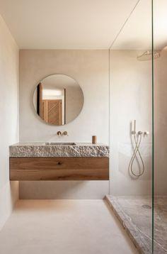 Modern Bathroom, Small Bathroom, Master Bathroom, Earthy Bathroom, Family Bathroom, Budget Bathroom, Bathroom Ideas, Shower Ideas, Concrete Bathroom