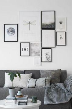 Gorgeous Modern Black And White Living Room Inspired