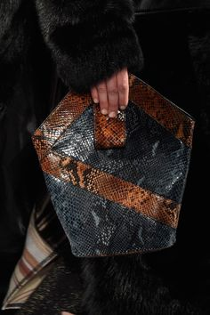 Snake prints - 6 Handbag Trends from New York Fashion Week Fall 2016 - Forbes