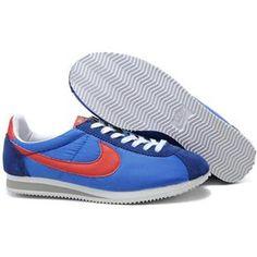 online store 47451 46589 Men Nike Cortez Oxford Cloth Shoes Sapphire Red Nike Shoes, Sneakers Nike, Jordan  Retro
