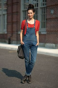 25 Perfect Overalls Outfits for Spring | StyleCaster