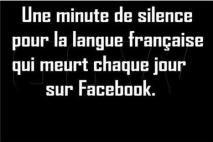 Facebook 1 Langue Française 0