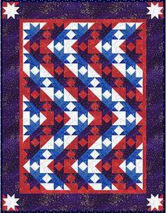 Stars & Stripes Forever quilt