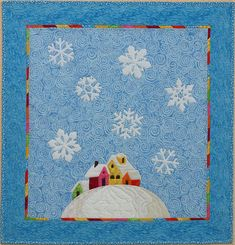 Yesterday I received my quilt from the Quilting Gallery's winter swap. It's just perfect. Although this was a secret swap, we did receive ou...