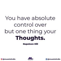 The ability to control our thoughts is what enables us to fashion our own reality. #muselot #bethemuse #napoleonhillquotes #deepquotes #deepthoughts #musequotes #lifequotes #inspirationalquotes #motivationalquotes #quotestoliveby #quotestoremember