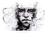 """Lines Hold the Memories"" by Agnes Cecile (abstraction)"