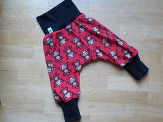 Pumphosen - Baby Kind Pumphose Wunschgröße, Affen rot - ein Designerstück von…