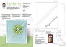 Online Store - September 2016 - Back Issues - Parchment Craft Magazine - Hobbies And Crafts