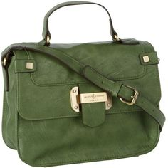 Green mini satchel handbag and other apparel, accessories and trends. Browse and shop related looks.