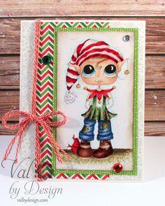 Sherri Baldy Christmas Elf (ValByDesign, 2015}
