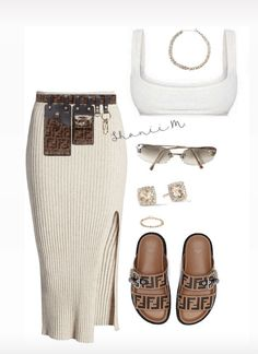 Miami Outfits, Boujee Outfits, Polyvore Outfits, Outfits For Teens, Summer Outfits, Fashion Outfits, Cute Comfy Outfits, Stylish Outfits, Cochella