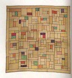 Pojagi - Korean Fiber Art. (14th - 20th century) (Even before Mondrian, they had this modern pattern in old Korea.) :)