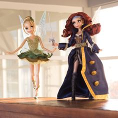 Limited Edition Tinker Bell and Zarina Dolls Released in February 2014 // Inspired By Dis