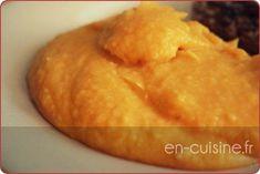 Recette purée de patates douces au Thermomix