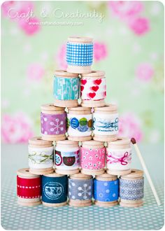 Mer ordning bland banden – More organized trims and ribbons | Craft & Creativity – Pyssel & DIY