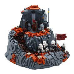 Star Wars Clone Wars, Lego Star Wars, Lego Creative, Lego Clones, Lego Display, Lego Sculptures, Lego Army, Amazing Lego Creations, Lego Pictures