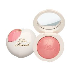 Peach My Cheeks Blush ($30) ❤ liked on Polyvore featuring beauty products, makeup, cheek makeup, blush and powder blush