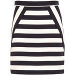 Marc By Marc Jacobs Scooter Striped Twill Skirt