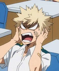 Hero Academia Characters, My Hero Academia Manga, Anime Characters, I Love Anime, Anime Guys, Mad Face, Bakugou Manga, Hero Wallpaper, Anime Boyfriend