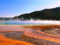 Grand Prismatic Springs-Yellowstone National Park My Beautiful Earth - Google+