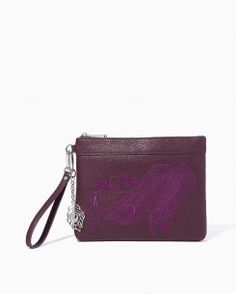 Peacock Perfect Wristlet
